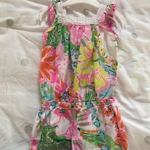 Lilly Pulitzer 2T romper